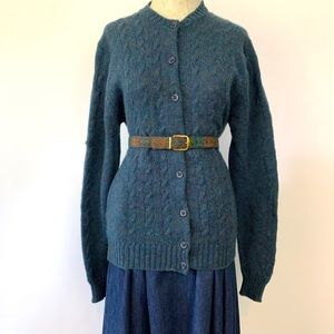 Vintage 1970s Classic LL Bean Wool England Sweater